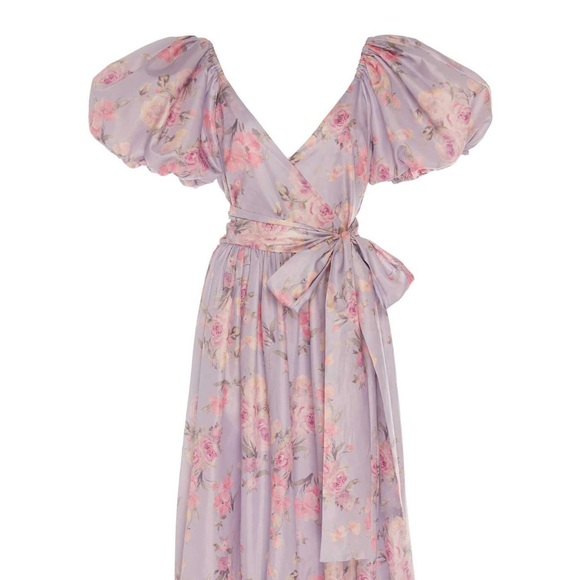 LoveShackFancy Ida Floral Maxi Dress Size 4 - NWT
